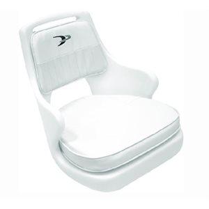 """Chaise pilote avec plaque de montage 18,25 """"H x 20,5"""" L x 22,5 """"P"""
