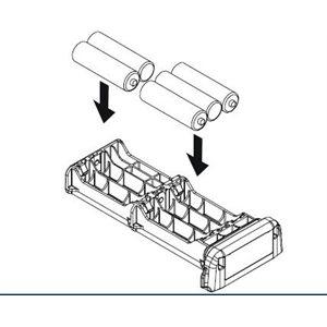 Standard Horizon battery tray for HX850