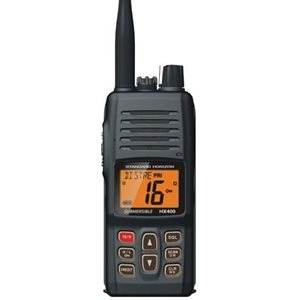 VHF handheld HX400s