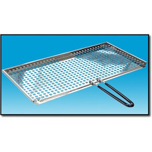 Stainless Steel Fish and Veggie Grill Tray
