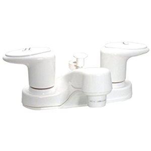 Robinet blanc avec connexion NPT pour douche à main