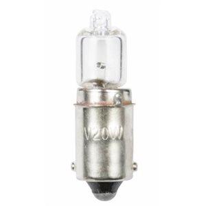 Bulb halogen 12 V 20 1.67 A