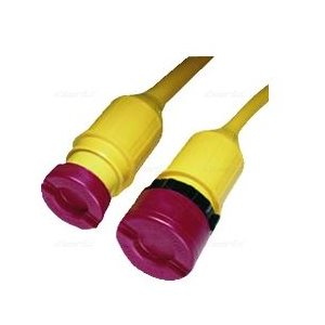 Cord cap set for 50A power cord