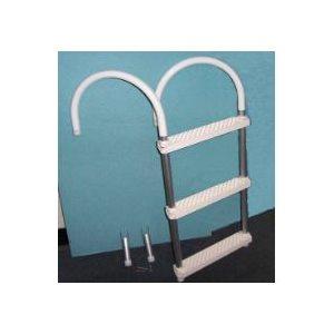 "Ladder 3 step aluminium 33"" x 14-1 / 2"""