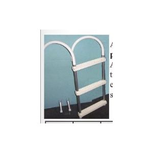 "Boarding ladder 4 step aluminum / plastic LOA 47"" W 14-1 / 2"""