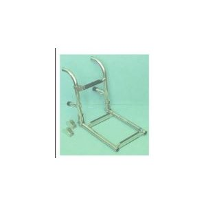 """Folding ladder 3 step stainless permanent mount to transom / deck LOA 23-3 / 4"""""""