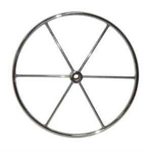 Barre à roue inox. de 24'' 6 rayons 1''alésage